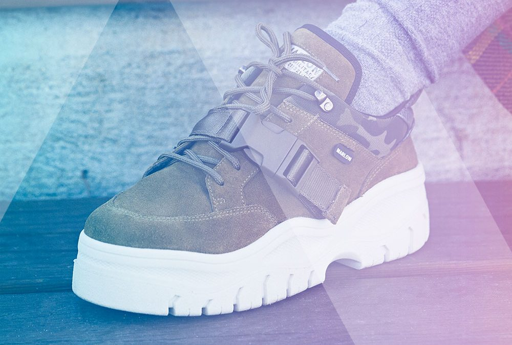 Platform Sneakers: now more comfortable with Marlon