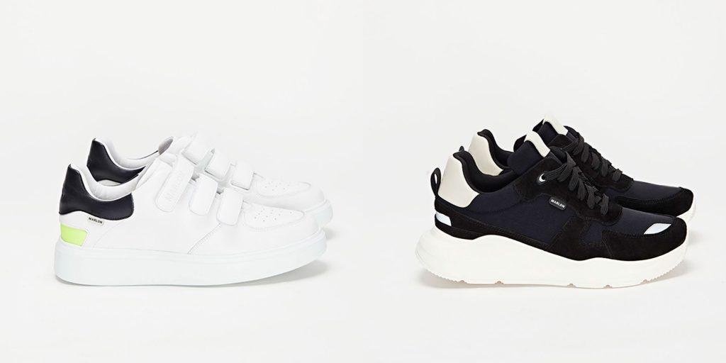 Zapatillas 004 white y 001 black