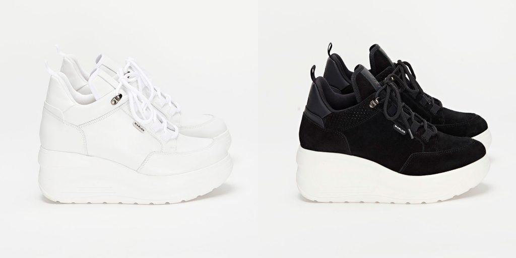 Zapatillas 005 white y 005 black