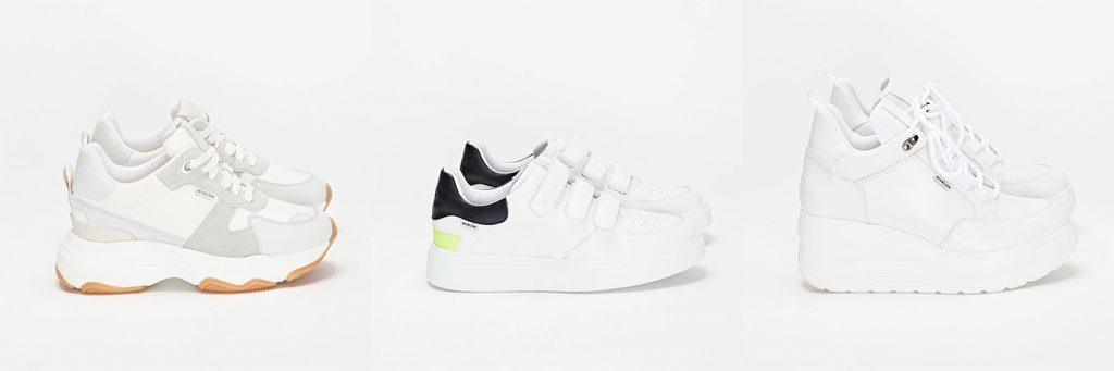 sneakers blancas mujer
