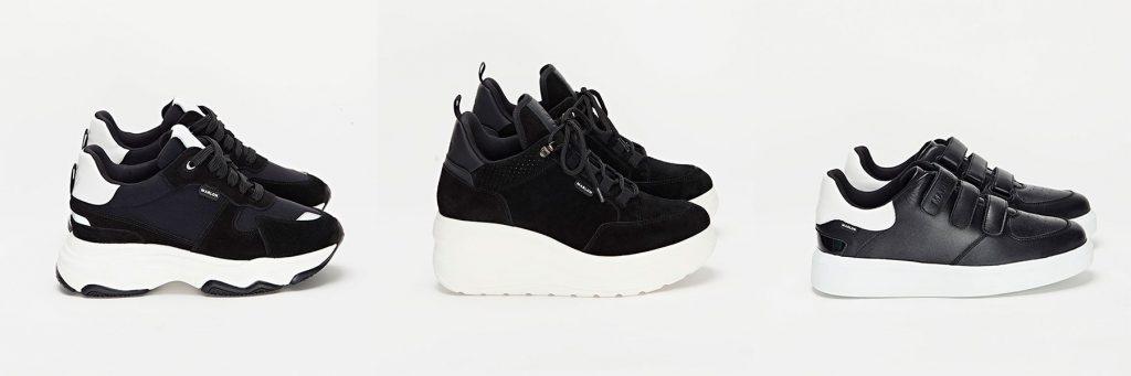sneakers negras de Marlon Sneakers